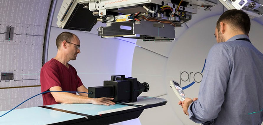 Proton Beam Therapy module goes live